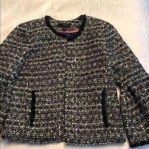 Jcrew tweed jacket size 00